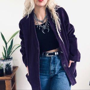 VTG Purple Corduroy Jacket